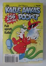 Kalle Ankas pocket 184 Full sprutt, Kalle