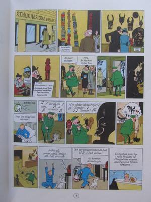 Tintin 18 Det sönderslagna örat