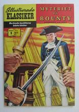 Illustrerade Klassiker 009 Myteriet på Bounty 2:a uppl. Fn-