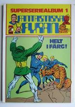 Fantastiska Fyran  Superseriealbum 01 1979 VF