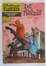 Illustrerade Klassiker 173 Det blå hotellet 1:a uppl Vg