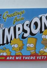 Simpsons greetings from Simpsons - vykort