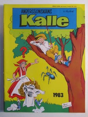 Anderssonskans Kalle Julalbum 1983