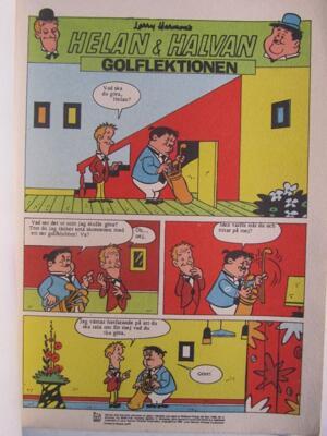 Helan och Halvan Specialnummer 1969 Vg