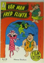 Vår man Fred Flinta Film Edition 1966 Vg